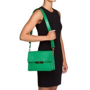 Green Just Fab Crossbody Bag